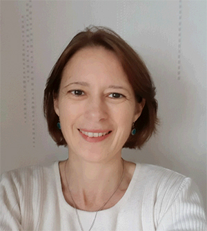 Fabienne Glomot, présidente de l'association